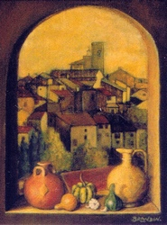 View on Vence, France